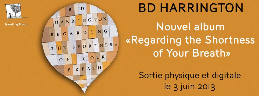 BD Harrington : nouvel album